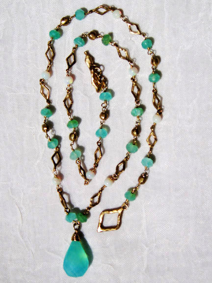 silver beaded sterling products king amazonite peruvian n necklace d jay