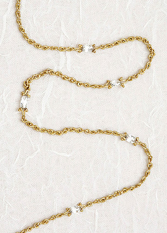 5 Roquis Diamond InfinityChain Necklace(1.25ctw)(18k)