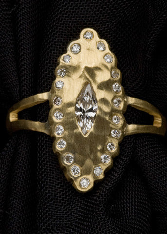 Rhombus Countess Celestial Ring(.55ctw)(18k)