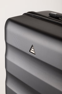 Runway Hard Shell Family Suitcase - Black