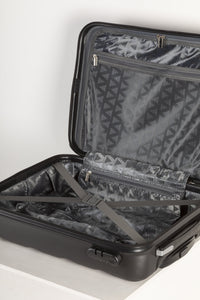 Lightweight Hard Shell Carry on Suitcase - Black