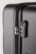 Load image into Gallery viewer, Secure Combination Locking Family Suitcase - Black