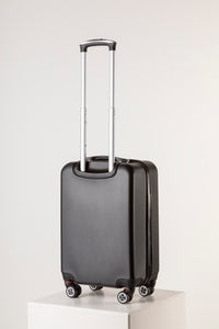 Black Hard Shell Hand Luggage Suitcase