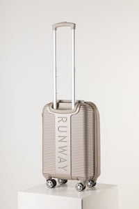 Lightweight Rolling Cabin Sized Suitcase Champagne