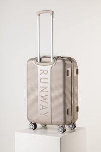 Florence Fashion Suitcase, Large Champagne