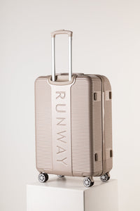 Extra Large Light Weight Suitcase - Champagne