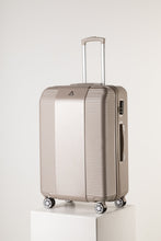 Load image into Gallery viewer, Large Lightweight Suitcase With Secure Lock Champagne Pink