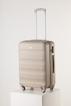 Load image into Gallery viewer, Large Hardshell Suitcase Champagne Gold