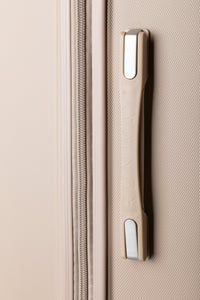 Extra Large Hard shell Case With Soft Grip Handles - Champagne