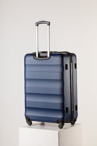 Extra Large Navy Suitcase