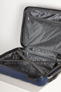 Lightweight Hard Shell Carry on Suitcase - Navy
