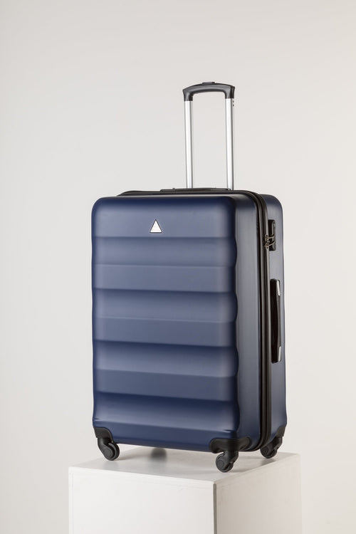 Extra Large Family Sized Luggage Navy Blue