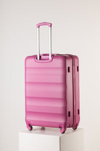 Extra Large Pink Suitcase