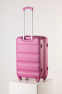 Large Hard Shell Suitcase - Pink