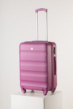 Load image into Gallery viewer, Large Hardshell Suitcase Pink