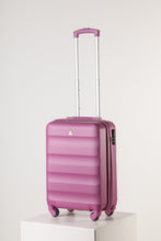Load image into Gallery viewer, Hard Shell Carry On Luggage Pink Runway Suitcase Milan Range