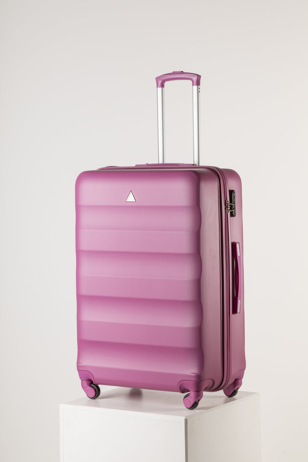 Extra Large Family Sized Luggage Bright Pink