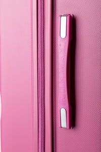 Extra Large Hard shell Case With Soft Grip Handles - Pink