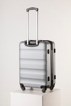 Load image into Gallery viewer, Large Hard Shell Suitcase - Silver