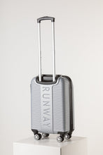 Load image into Gallery viewer, Lightweight Rolling Cabin Sized Suitcase Silver