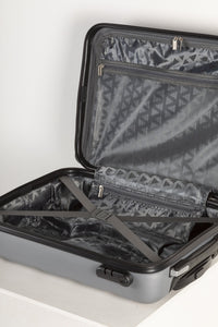 Lightweight Hard Shell Carry on Suitcase - Silver