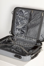 Load image into Gallery viewer, Fully Lined Fashion Travel Case - Silver
