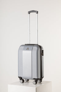 Lightweight Carry On Suitcase - Florence Silver