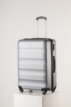 Load image into Gallery viewer, Extra Large Family Sized Luggage Silver