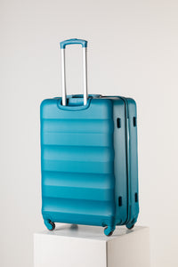Extra Large Teal Suitcase