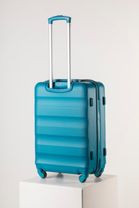 Large Hard Shell Suitcase - Teal