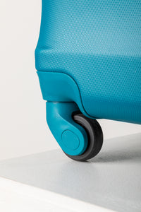 Smooth Rolling Hard Shell Suitcase - Teal