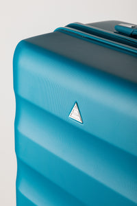 Runway Hard Shell Family Suitcase - Teal