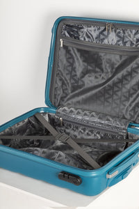 Lightweight Hard Shell Carry on Suitcase - Teal