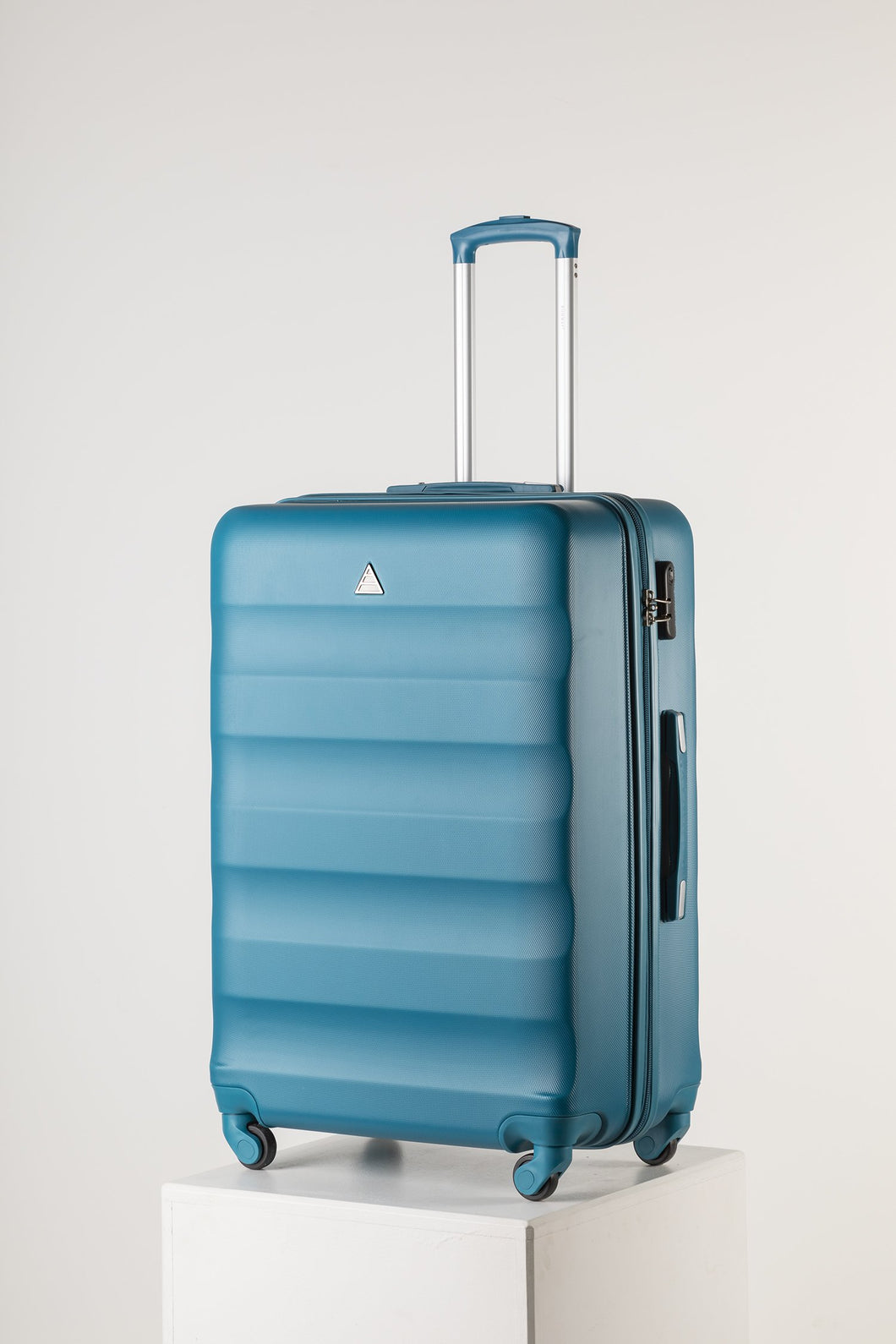 Extra Large Family Sized Luggage Teal
