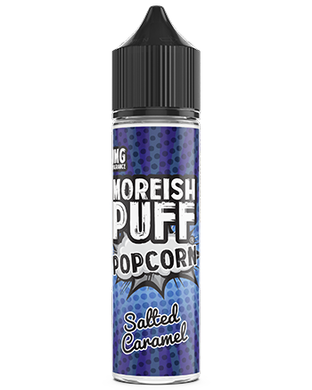 Salted Caramel Popcorn By Moreish Puff  E-liquid (6022865387681)