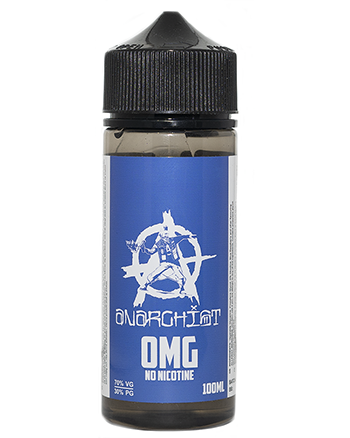 Blue eLiquid by Anarchist 100ml - Vapox UK LTD (4382531911752)