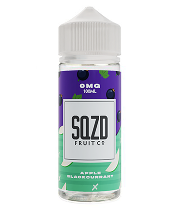 Apple Blackcurrant eLiquid by SQZD 100ml - Vapox UK LTD (4516639277128)