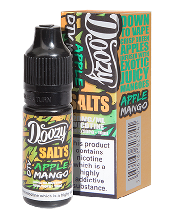 Apple Mango e-liquid is a fruitful combination of juicy green apple and tropical mango.   This e-liquid is 50%VG which is ideal for flavour and discreet clouds. We recommend using this e-liquid in a pod device or starter kit. Doozy Vape - Vapox UK LTD (5595737227425)