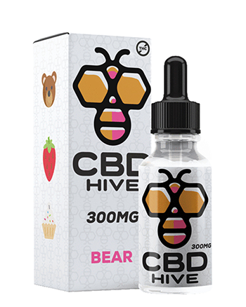 Bear CBD Tincture by CBD Hive - Vapox UK