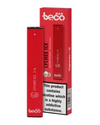 The Lychee Ice Beco Bar disposable vape kit is a simple kit that provides up to 300 puffs. Recommended for vapers of all experience levels, this pocket-friendly device never needs to be recharged or refilled. Powered by a built-in 280mAh battery, it can be used straight out of the box and when empty it can be disposed of and replaced. (5802978738337)