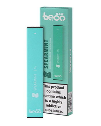 The Spearmint Beco Bar disposable vape kit is a simple kit that provides up to 300 puffs. Recommended for vapers of all experience levels, this pocket-friendly device never needs to be recharged or refilled. Powered by a built-in 280mAh battery, it can be used straight out of the box and when empty it can be disposed of and replaced. - Vapox UK LTD (5695515885729)