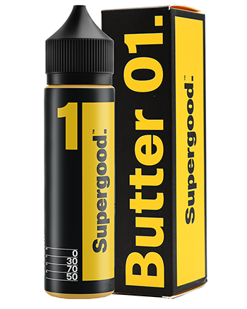 Butter 01 eLiquid by Supergood 50ml - Vapox UK LTD (4497359634504)