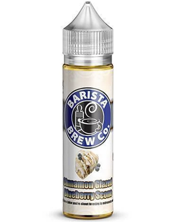 Cinnamon Glazed Blueberry Scone e-liquid is a pastry blend featuring a buttery yet juice blueberry scone that is complemented by sugary glazing and a hint of cinnamon.   This e-liquid is 80%VG which is ideal for flavour and clouds. We recommend using this e-liquid in a sub-ohm kit. - Vapox UK LTD (5615659745441)