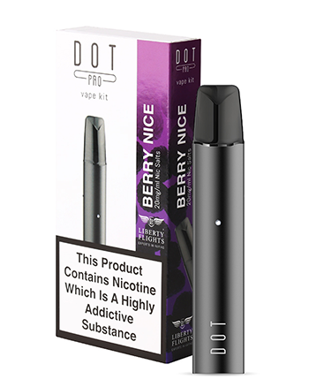 Dot Pro Vape Kit Berry Nice - Vapox UK LTD (4504239931464)