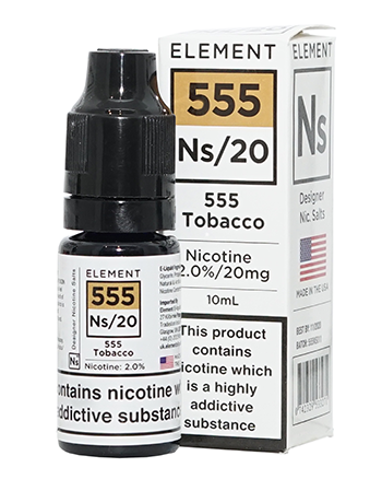 NS20 555 Tobacco eLiquid by Element - Vapox UK LTD (4384538493000)