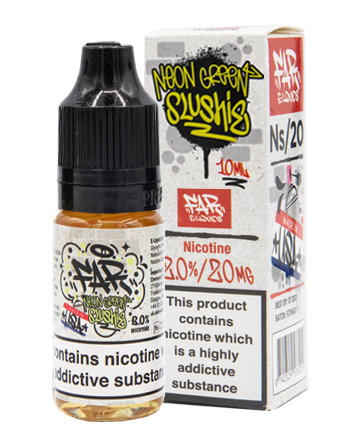 NS20 Neon Green Slushie eLiquid by Element - Vapox UK (4384539017288)