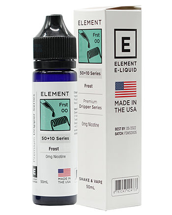Frost eLiquid by Element 50ml - Vapox UK (4490247340104)