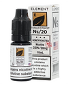 NS20 Honey Roast Tobacco eLiquid by Element - Vapox UK LTD (4384538591304)