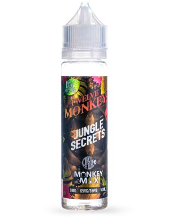 Jungle Secrets eLiquid by Twelve Monkeys 50ml (5897547612321)