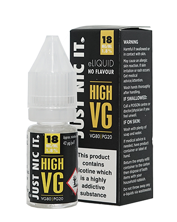 Just Nic It High VG Nicotine Booster Shot by Just Nic It - Vapox UK LTD (4450760654920)